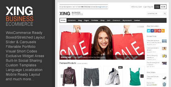 WooCommerce Premium Theme