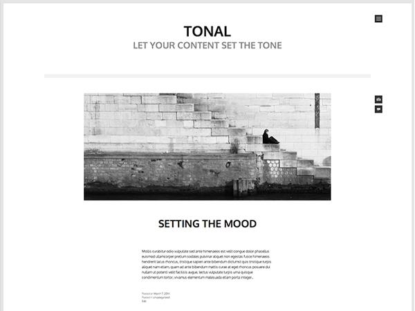 10 free minimalist WordPress themes - Tarique Sani