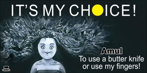 My Choice - Amul ad