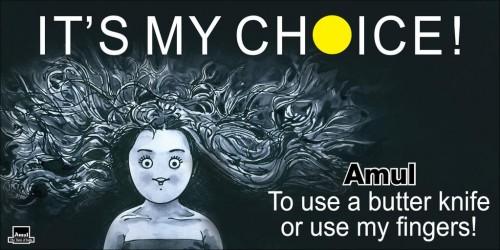 My Choice - Amul ad