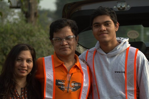 At the second checkpoint with Swati and Aasim