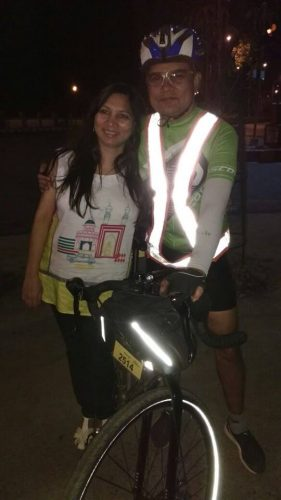 At the end of the ride - 4:08am